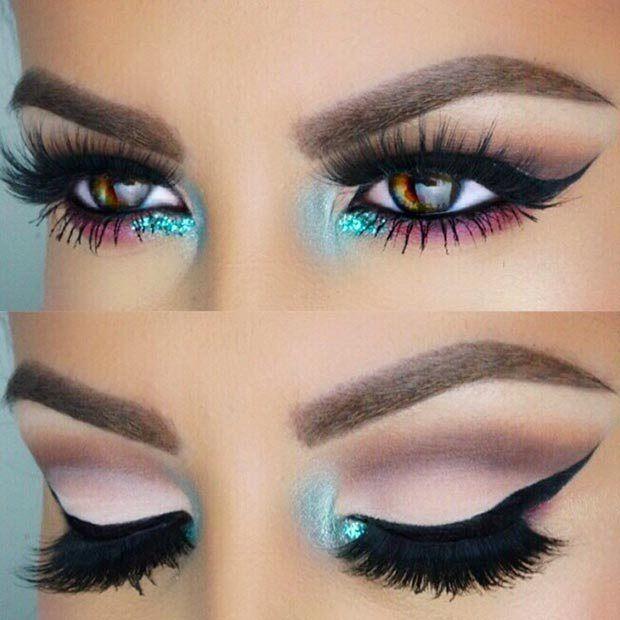 Maquillaje para ojos marrones - 7