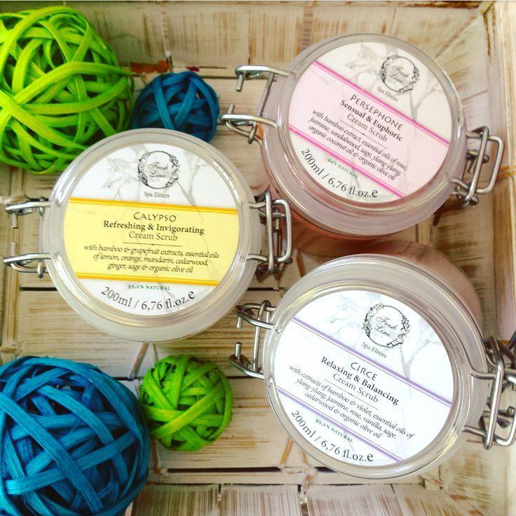 Μεταξένια & βελούδινη επιδερμίδα με τα #Creamscrub της Fresh Line! Κρεμώδη απολεπιστικά σώματος, εμπλουτισμένα με εκχύλισμα από μπαμπού, τονώνουν και αναζωογονούν την επιδερμίδα, αφήνοντάς τη πραγματικά λεία και λαμπερή. Απαραίτητα για την περιποίησή σας την περίοδο του καλοκαιριού! (Λιανική Τιμή: 26,90€/200ml) #FreshLine #Calypso #Circe #Persephone #bodypeeling #hydrating #smoothing #bambooextract