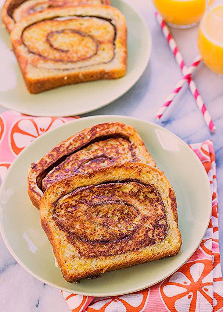 Cinnamon swirl french toast gimme delicious in 2020