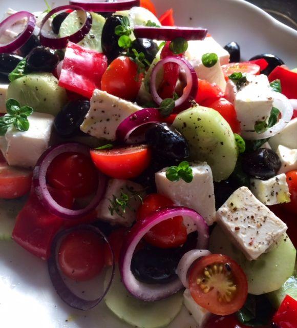 Græsk Salat | Kreamors Køkken