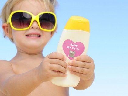 étiquettes autocollantes personnalisées ''cœur''