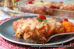Vamos fazer a Lasanha de Frango com Pão Integral para o #jantar? De certeza, tem os ingredientes em casa!  #Receita aqui: http://www.gulosoesaudavel.com.br/2014/12/29/lasanha-frango-pao-integral/