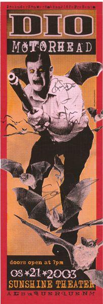 Dio, Motörhead-Sunshine Theater 2003