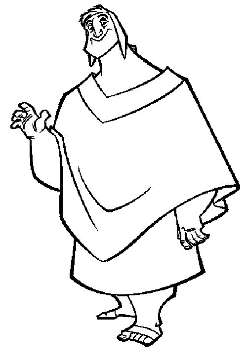 kronk coloring pages - photo#24