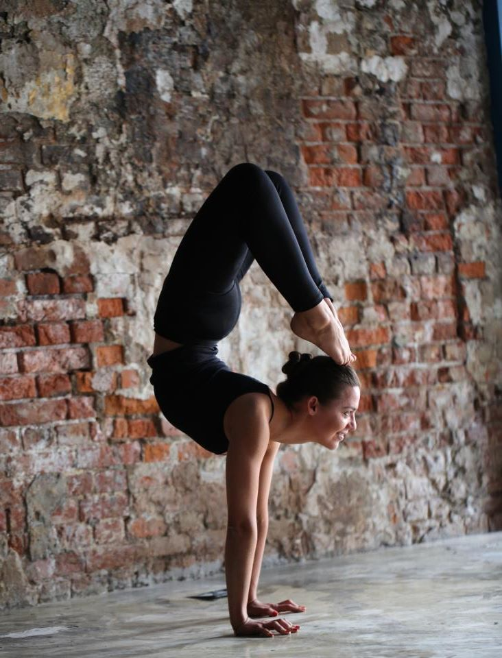 Thank you for my acquired ability to do advanced yoga poses - especially the scorpion pose!