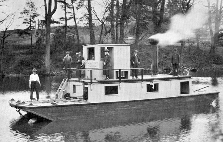 Alligator tugs were tested on the Lynn River beside the foundry before being shipped by rail to their destination. Amphibious because they moved over land by utilizing their winch. http://www.escapetodover.com/photo-gallery-then-page-3.htm