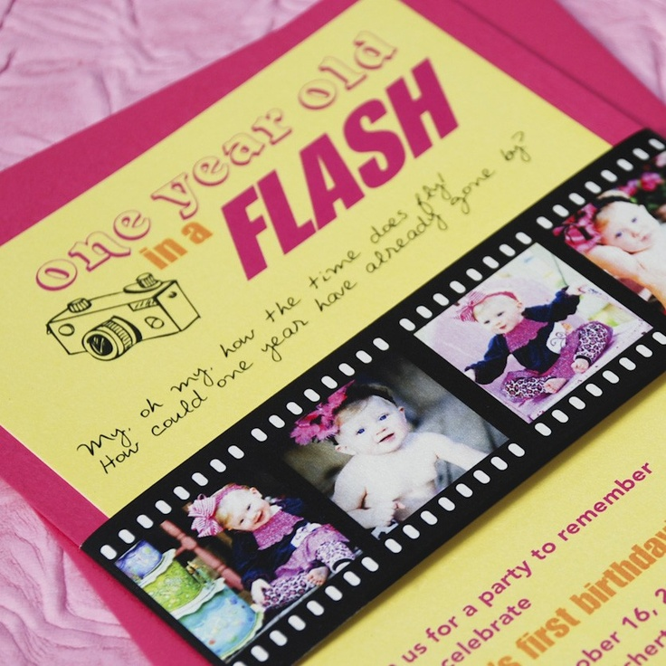 132 best 'one'derful birthday party. images on pinterest, Birthday invitations