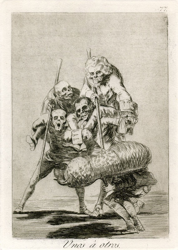 "Francisco de Goya  "" Al Toro !"""