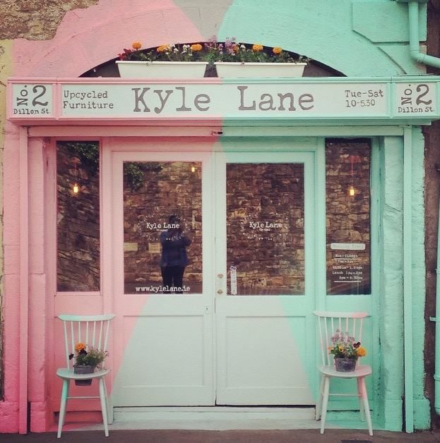 Kyle Lane , No.2 Dillon Street, Clonmel / Cluain Meala in Co Tipperary, Co Tipperary #upcycled furniture shop