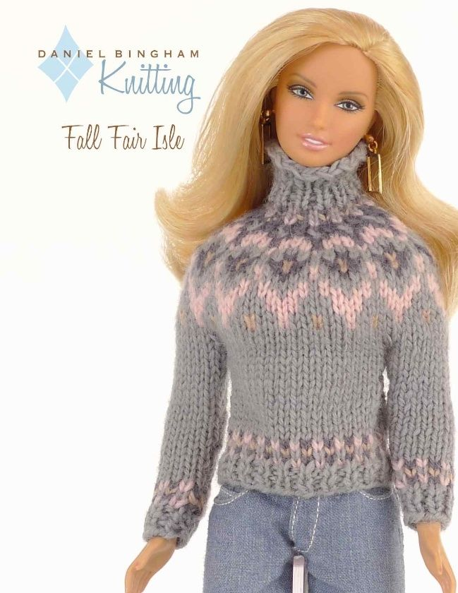 32 Best Knitting Patterns By Daniel Bingham Designs For Barbie Dolls