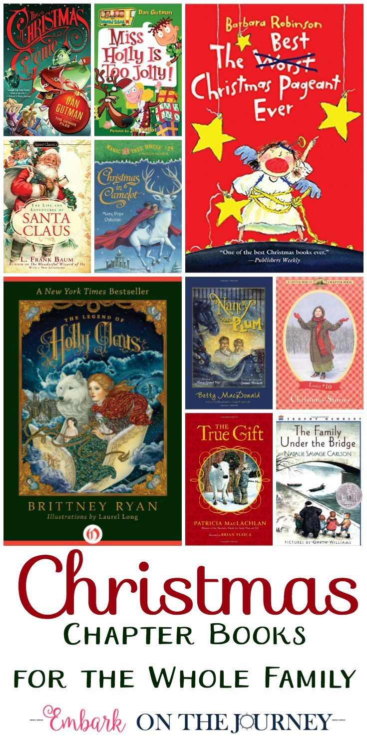 Whether you are filling your child's book basket or choosing your next read-aloud, here are 30 Christmas chapter books the whole family will enjoy.   embarkonthejourney.com via @letsembark