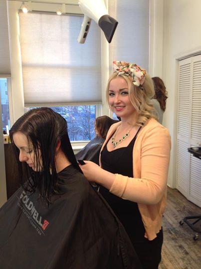 We Love Bridget's hair bow today!