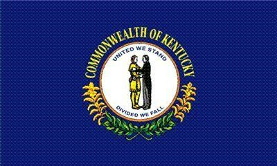 Kentucky State Flag 3x5 3 x 5 Brand NEW LARGE Banner by State Flag. $5.24. Express International Shipping is Global Express Mail (2-3 days). 3 Foot by 5 Foot, Indoor-Outdoor, Lightweight Polyester Flag with Sharp Vivd Colors. Express Domestic Shipping is OVERNITE 98% of the time, otherwise 2-day.. FAST SHIPPER: Ships in 1 Business Day; usually the Same Day if pmnt clears by noon CST. 2 Metal Grommets For Eash Mounting with Canvas Hem for long lasting strength. 3 f...