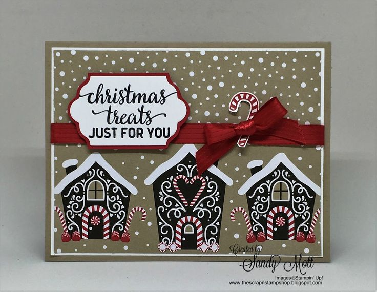 Hello Friends! Today I'm showing you a few of the printed papers in the new Candy Cane Lane Christmas Designer Series line. I love candy hou...