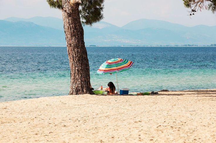 Skala Rachoni on idyllisen saaren idyllinen nurkkaus. #Thassos #Kreikka #Greece #travel #beach #matka #loma #tjäreborg #letsgo #parhaatviikot