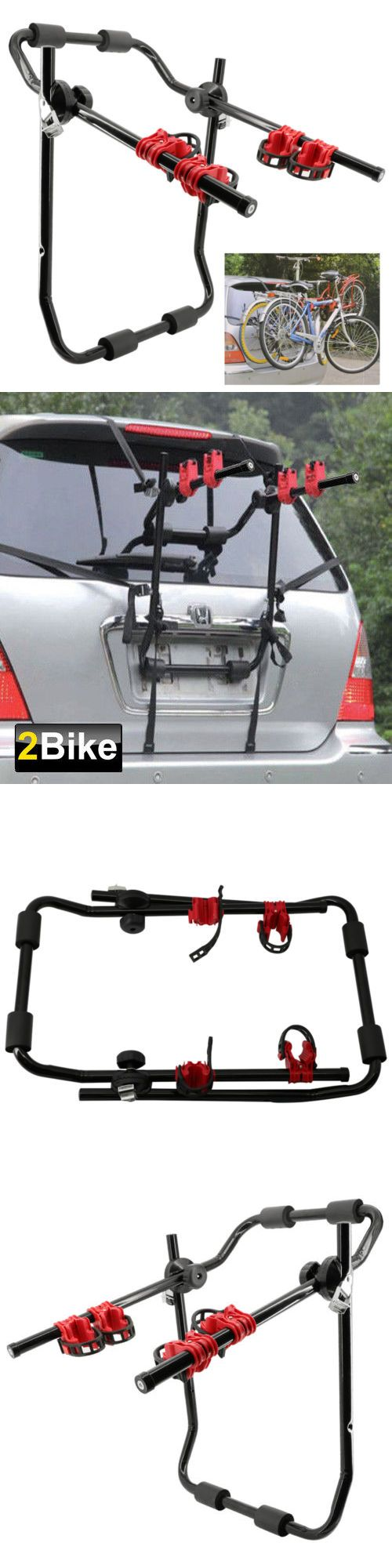 Car and Truck Racks 177849: 2016 Style 2-Bike Trunk Mount Rack Bicycle Rack Trunk Hitch Bike Carrier Holder -> BUY IT NOW ONLY: $34.99 on eBay!