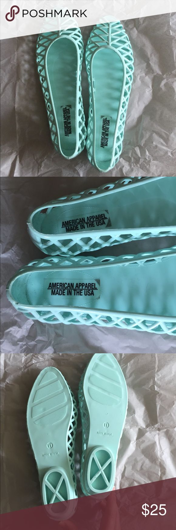 Black jelly sandals american apparel - American Apparel Jellies In Baby Blue American Apparel Jellies In Baby Blue Size 11
