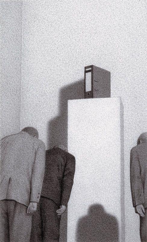 Quint Buchholz Diener - Servants - 1989   www.quintbuchholz.de: All Pictures