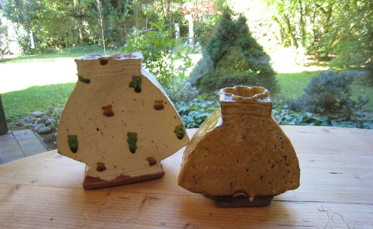 Richard Parker pots spotted in a private collection in Munich, October 2010.