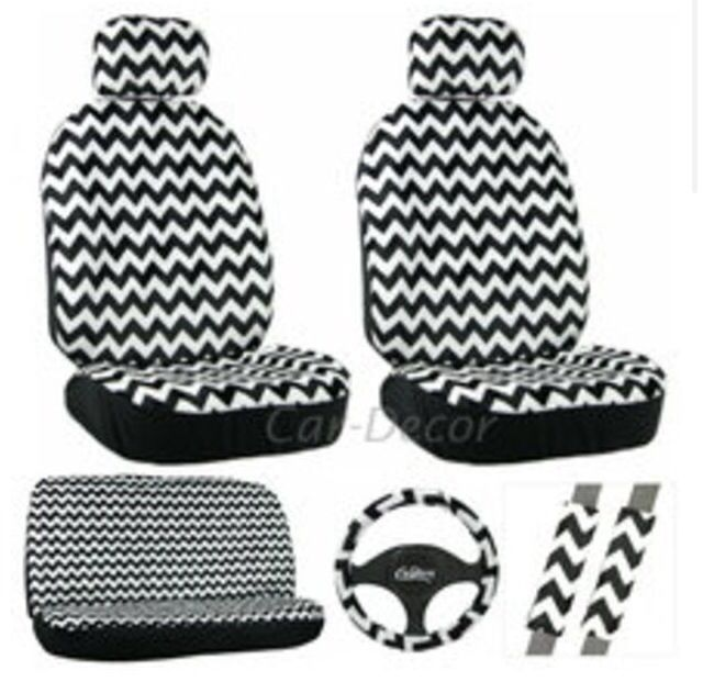 Chevron Car Accessories. Would love this in aqua and gray or mint!!