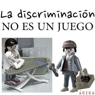 ... La discriminación no es un juego. http://cubildelartista.com/index.php/opinion/critica-social/300-estereotipos-opresores-de-la-mujer-a-traves-de-la-historia
