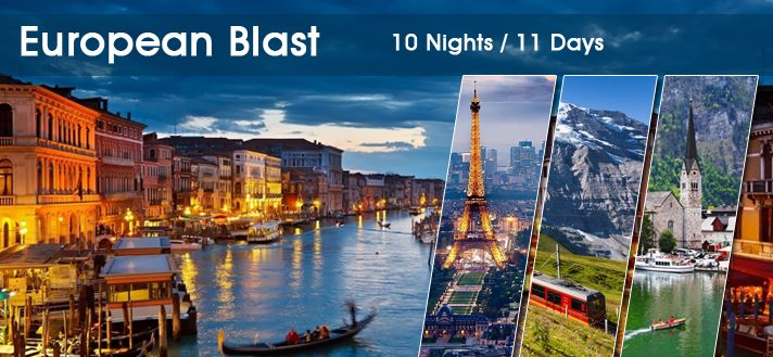 #EuropeGroupTours offers Customized #EuropeanHolidayTourPackages 2015 from Delhi India at attractive lowest rate.