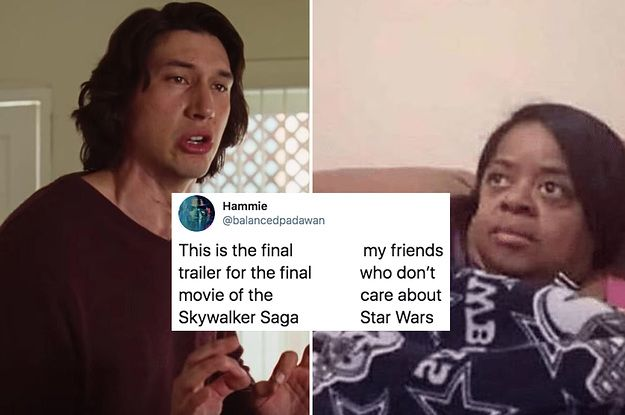 21 Jokes About The Star Wars The Rise Of Skywalker Trailer That Have The Force With Them Always Star Wars Memes Star Wars Quotes Star Wars Humor