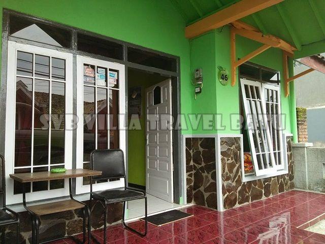 Indra Homestay di Batu Villa keluarga yang bersih, nyaman dan murah dengan lokasi dekat wisata BNS dan Jatim Park 2 batu malang.