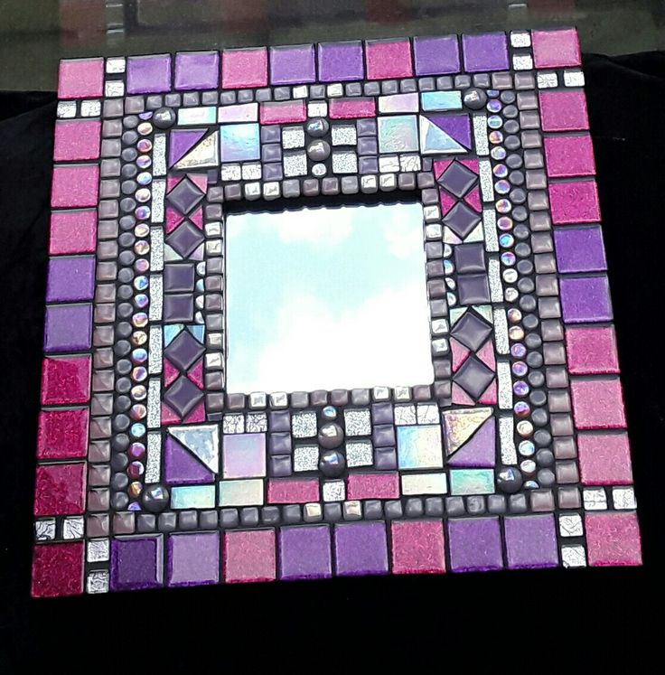 "Mosaic mirror available from my Etsy shop "" mosaicsbyjat """