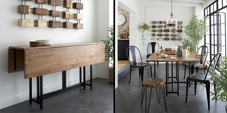dining room table for small spaces | 10 Space-Saving Dining Tables for your Tiny Apartment ...