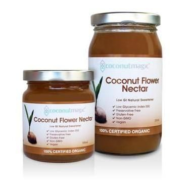 I have just discovered this Organic Coconut Flower Nectar...OMG...amazing!!