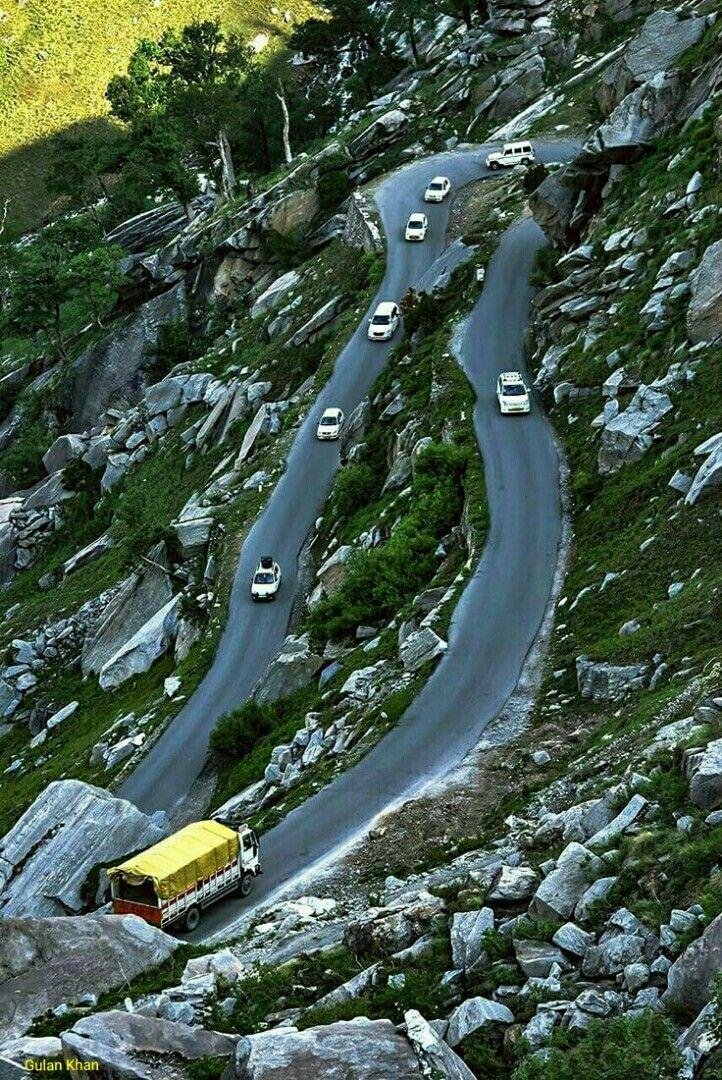 Rohtang pass Manali Himachal Pradesh India