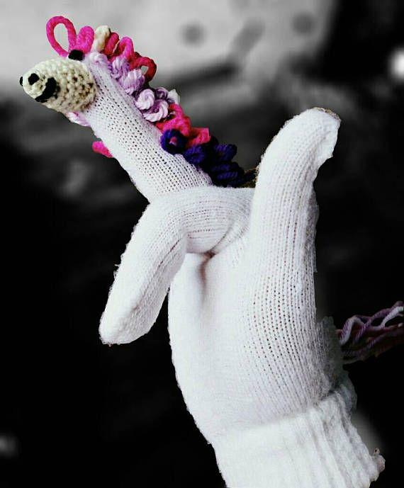 Women's mittens vulgar unicorn unisex gloves