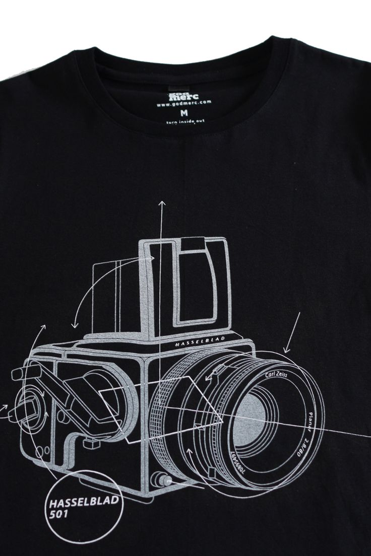 Black t shirt ebay - Hasselblad Classic Camera Tee Shirt Black Analog Medium Format Photography