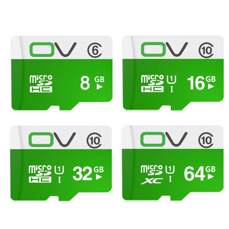 OV Mémoire Carte Micro Sd 64 GB 32 GB 16 GB Classe 10 SDHC SDXC UHS-1 TF Carte Microsd Flash Carte SD Carte Mini Sd Carte 8 GB Clss6