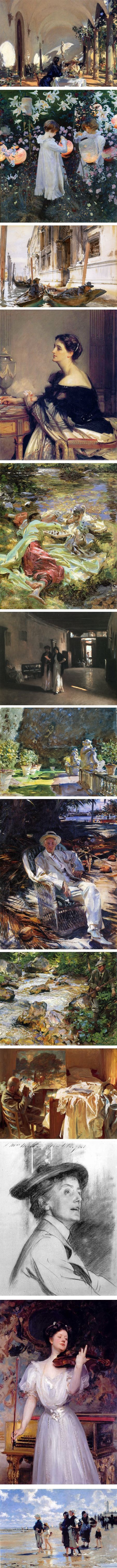 A few more from John Singer Sargent