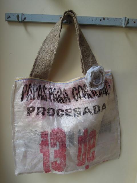 Bolsa de compras reciclada