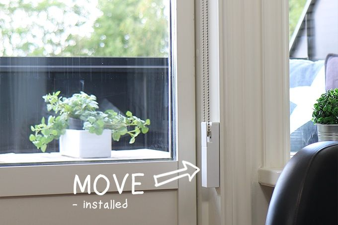A $29 bluetooth controlled motor for your existing indoor blinds and shades