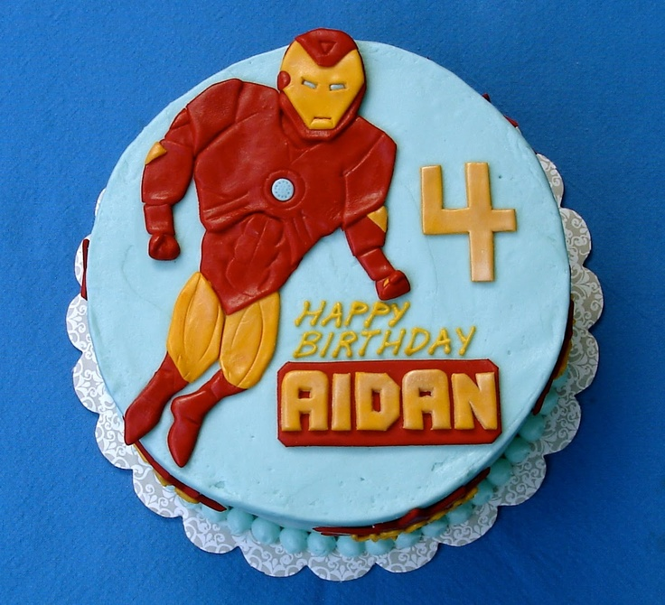 10 best Iron Man Birthday Cake Ideas images on Pinterest Man