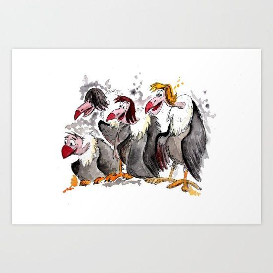 Jungle Book Vultures - $16