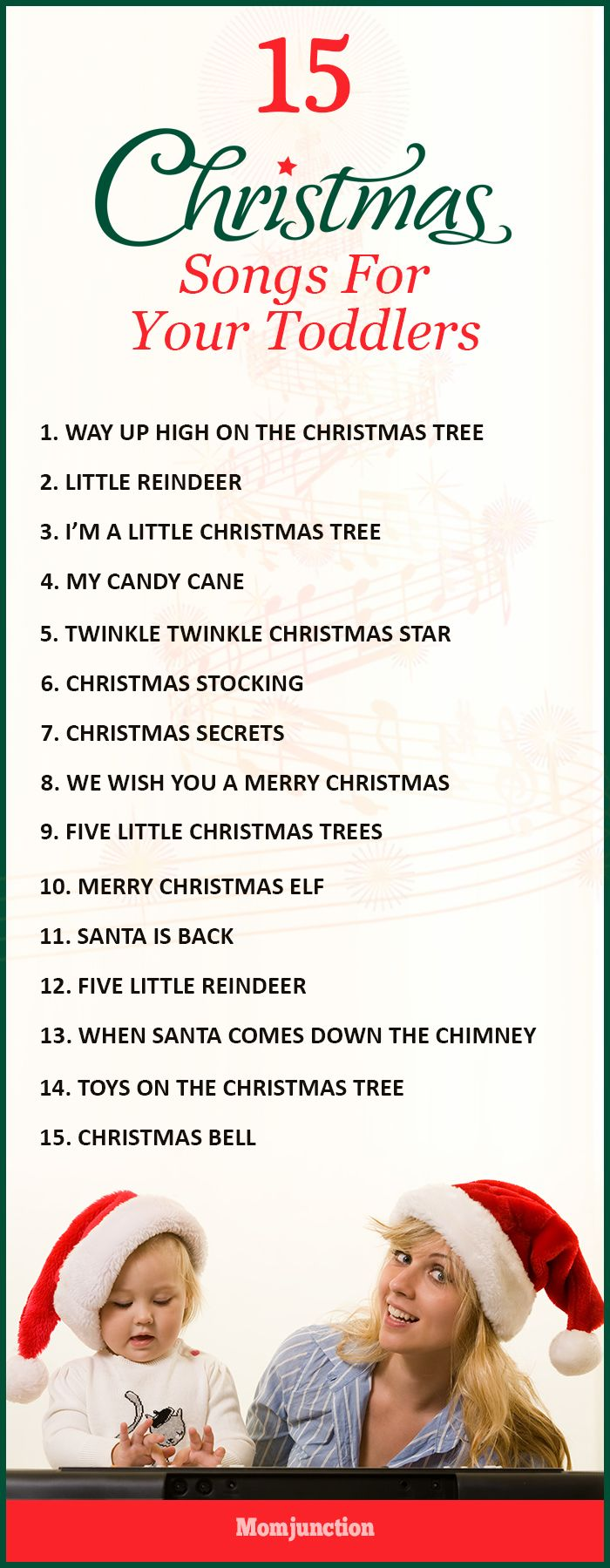 Check the easy & fun christmas songs for toddlers that they won't have trouble remembering. Infact it is the time to sing some lovely hymns & Christmas carols.