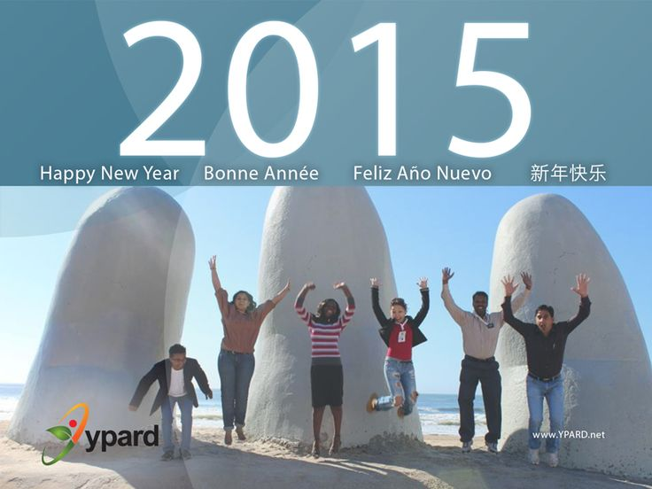 """Happy New Year and cheers to youth!""  From C. Paisley, YPARD Director, on behalf of YPARD Team! ""Join us, take part, become involved. 2015 is going to be a great year!"" Read 2014 Highlights, 2015 Focus and Courtney's message to you all: http://www.ypard.net/2015-january-5/happy-new-year-and-cheers-youth"