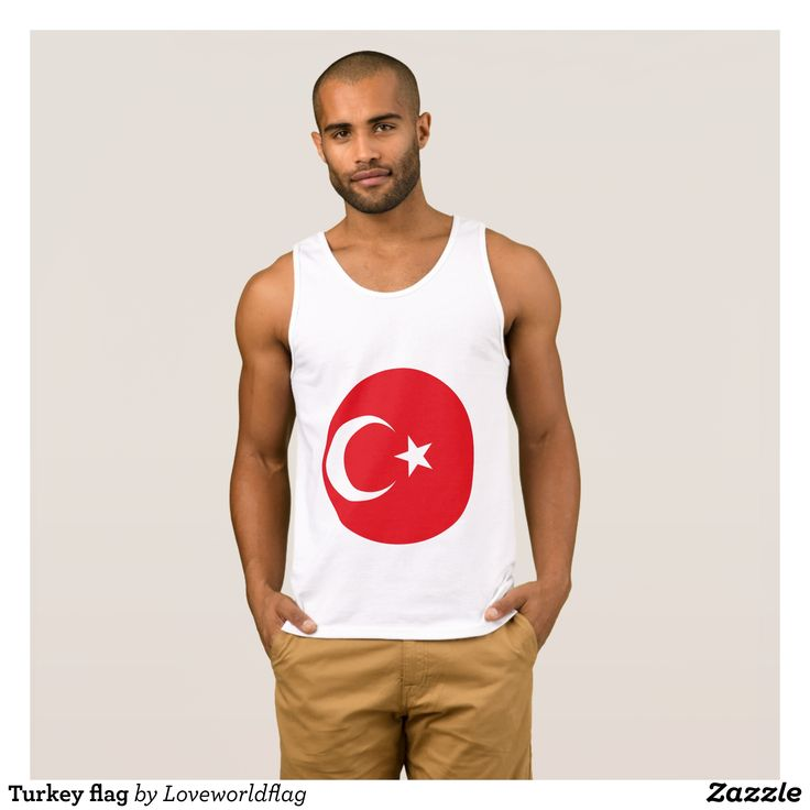 Turkey flag tank top - Comfy Moisture-Wicking Sport Tank Tops By Talented Fashion & Graphic Designers - #tanktops #gym #exercise #workout #mensfashion #apparel #shopping #bargain #sale #outfit #stylish #cool #graphicdesign #trendy #fashion #design #fashiondesign #designer #fashiondesigner #style