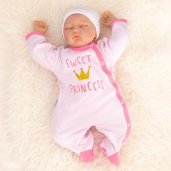 Baby Sweets Mädchen Set Strampler und Shirt rosa Sweet Princess