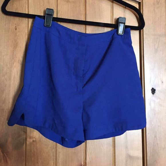 Cobalt blue shorts Very cute with white tshirt Lush Shorts
