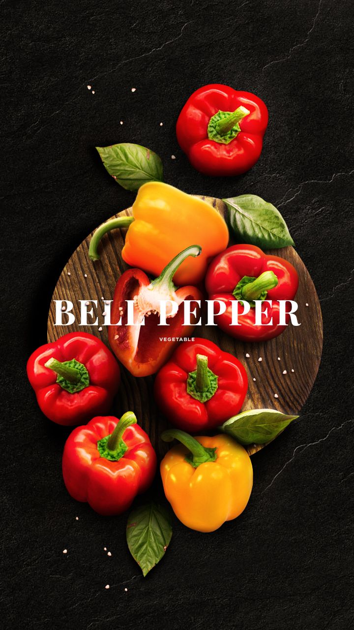 """Day 10: Bell PepperBell pepper, also known as sweet pepper or capsicum.Bell peppers are sometimes grouped with less pungent pepper varieties as """"sweet peppers."""