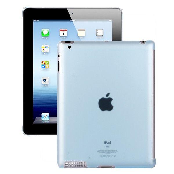 Hyaline - Smart Cut Deksel (Gjennomsiktig Lyse Blå) iPad 2 Deksel