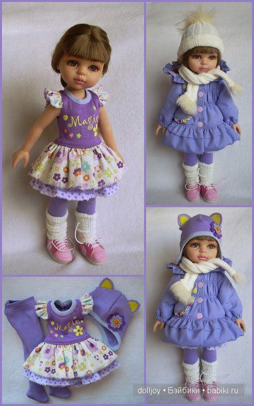 выкройка одежды для куклы Gotz, baby born, paola reina