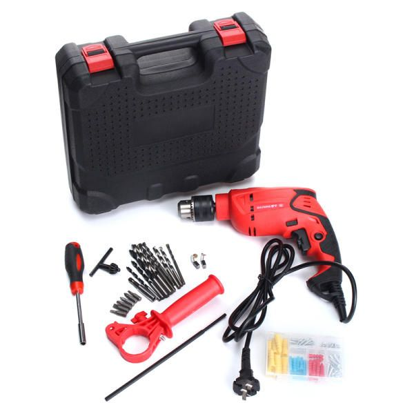 710W 220V Electric Hammer Eletric Drill 3400 RPM Power Drill  Durable Tool Set