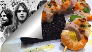 Spiedini maiale e gamberi alla Pink Floyd / Pink Floyd's Pork and Shrimps on a Spin